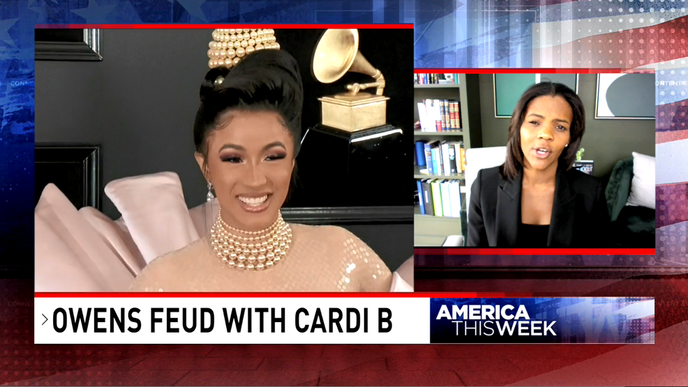 'America This Week': Candace Owens on her Twitter feud with Cardi B