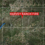 Hutchinson County wildfire still burning land