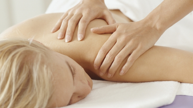 Massage therapy helps rub out stress for cancer patients