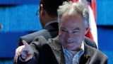 Twitter's verdict on Clinton's VP: 'Tim Kaine is a sentient dad joke'