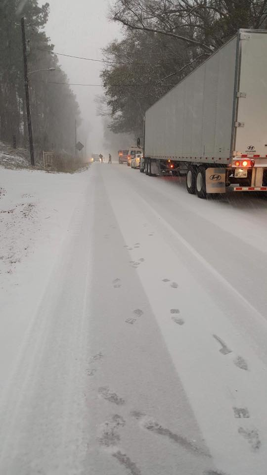 Highway 52 in Cheraw (Viewer submitted)<p></p>