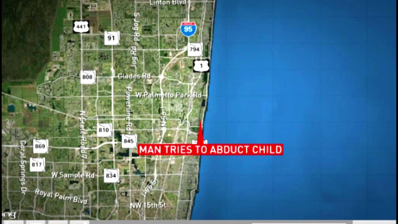 Police searching for man accused of trying to abduct child in Boca Raton (WPEC)