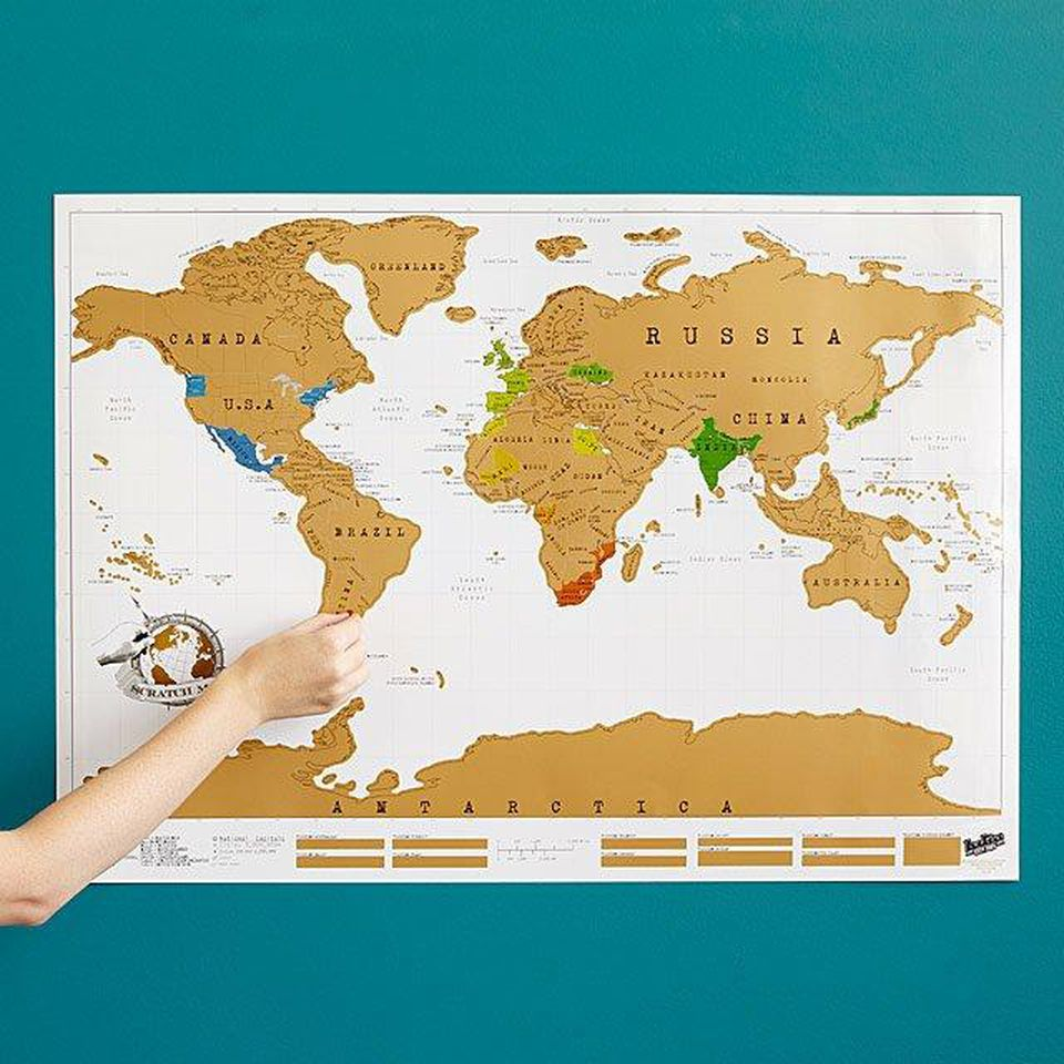 <p>This scratch map will help dad remember all the places he's visited. The UncommonGoods Scratch Map is available now for $26 (Image:{&nbsp;}UncommonGoods){&nbsp;}</p><p></p>