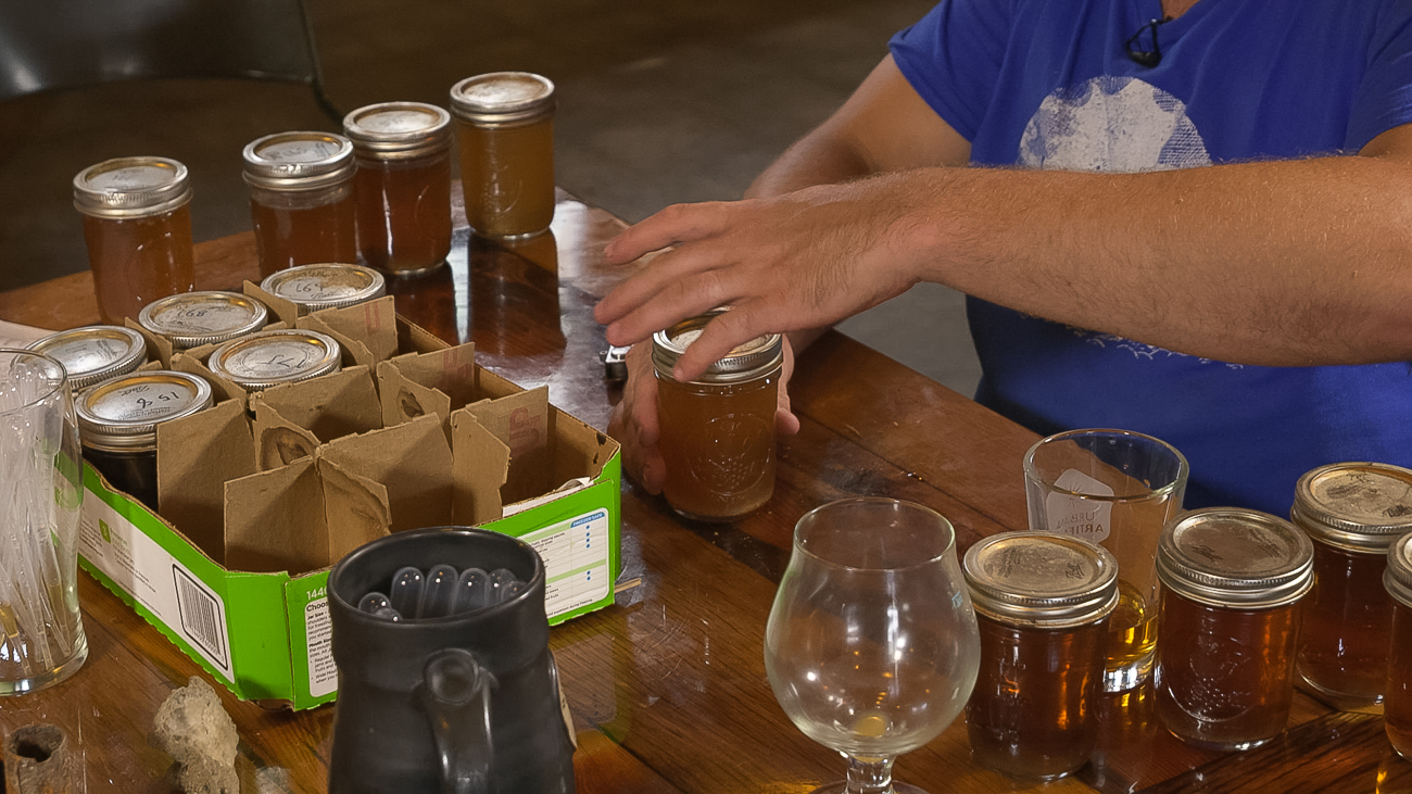 Beer samples were brewed using yeast scrapings from within and around a vat that was discovered in a cellar in Over-the-Rhine.{ }/ Image courtesy of{ }Seven/Seventy-Nine Video // Published: 11.5.18