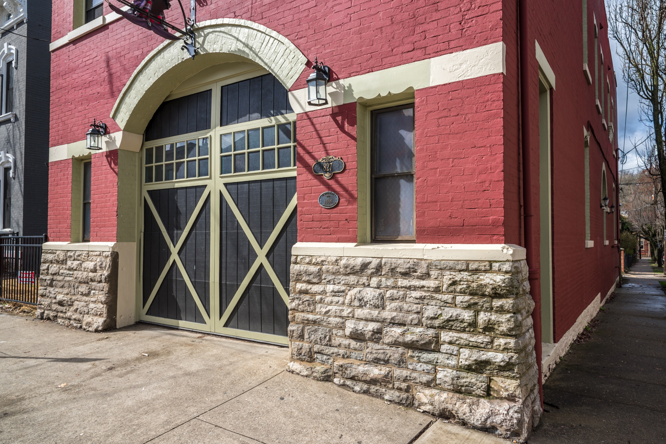 Engine Company No. 4 in Covington was built in 1888 and served as a fire house until 1980. In the early '80s, the second floor was transformed into two rentable living spaces. ADDRESS: 827 Main Street (41011) / Image: Phil Armstrong, Cincinnati Refined // Published: 3.23.17