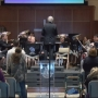 The Salvation Army's Chicago Staff Band plays for Quincy