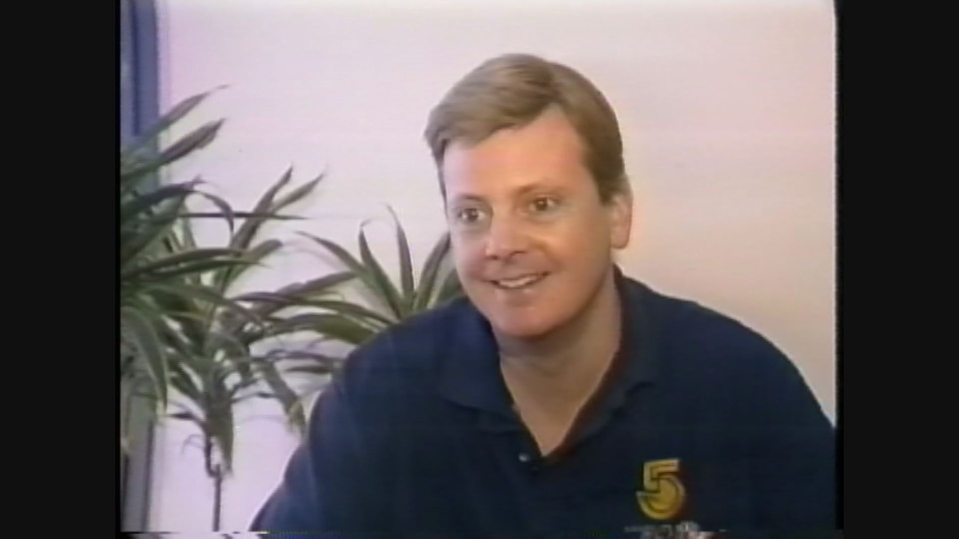 Dave Dierks in 1993 from our archived footage of the blizzard.
