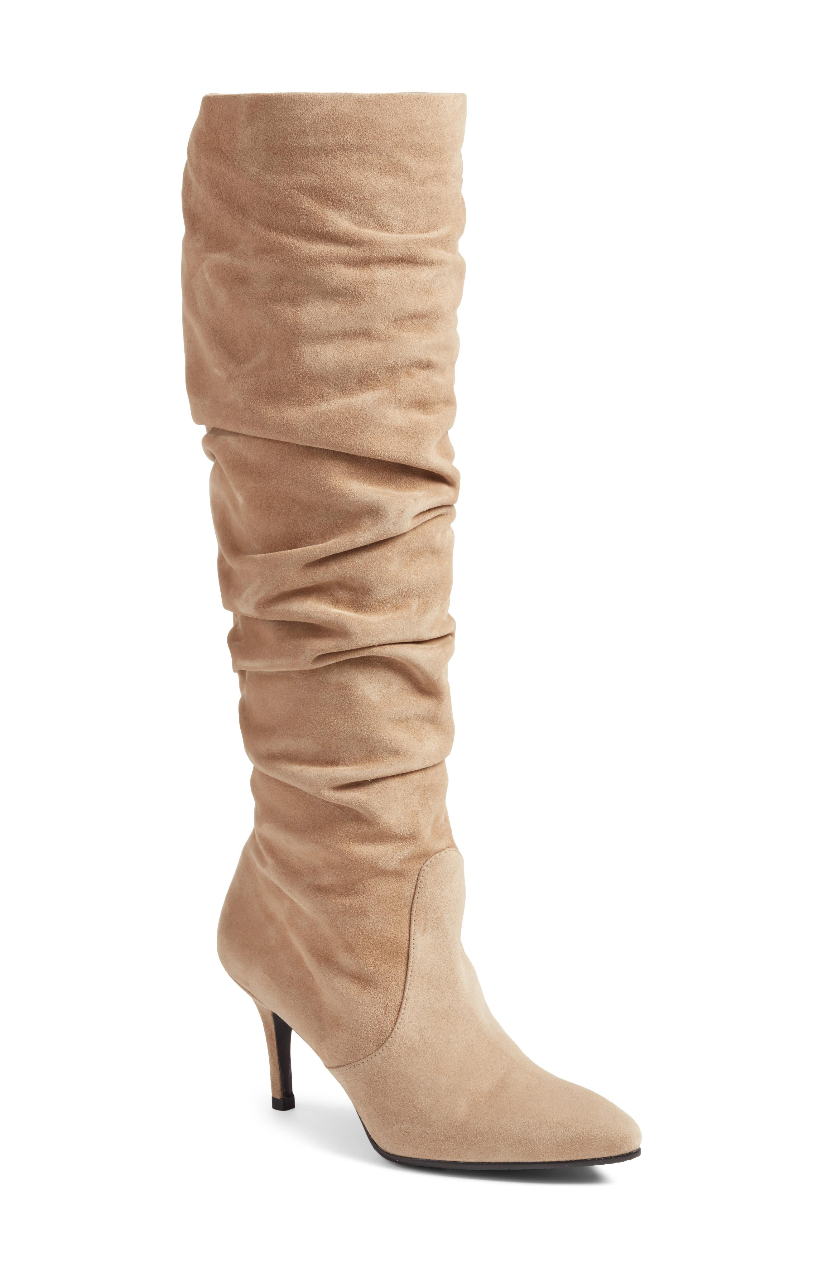 Stuart Weitzman Lafayette Slouch Boot -- Sale: $489.90 / After Sale: $775{ }(Image: Courtesy Nordstrom)