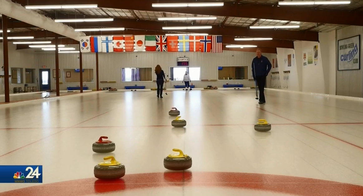 A look at the curling ice at the Black Swamp Curling Center in Bowling Green (WNWO)<p></p>