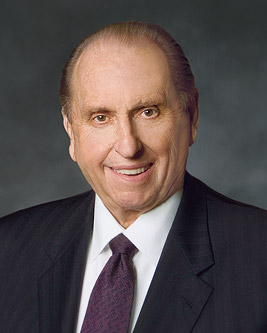 Thomas S. Monson, president of LDS church, dies at 90 (Photo: Courtesy LDS church)