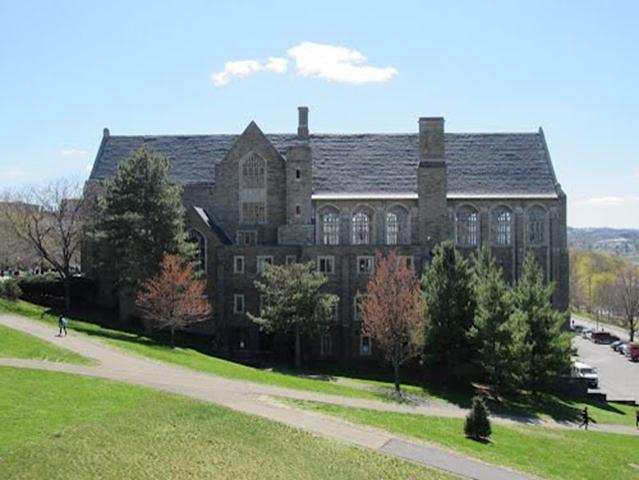 As one of the first structures in the United States dedicated solely to student life, Willard Straight Hall on the Cornell University campus was built in 1925.  At 103,000 square feet spread over six floors, the student union is home to many attractions.