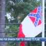 Residents, NAACP call for removal of Confederate Flag at Spanish Fort City Hall