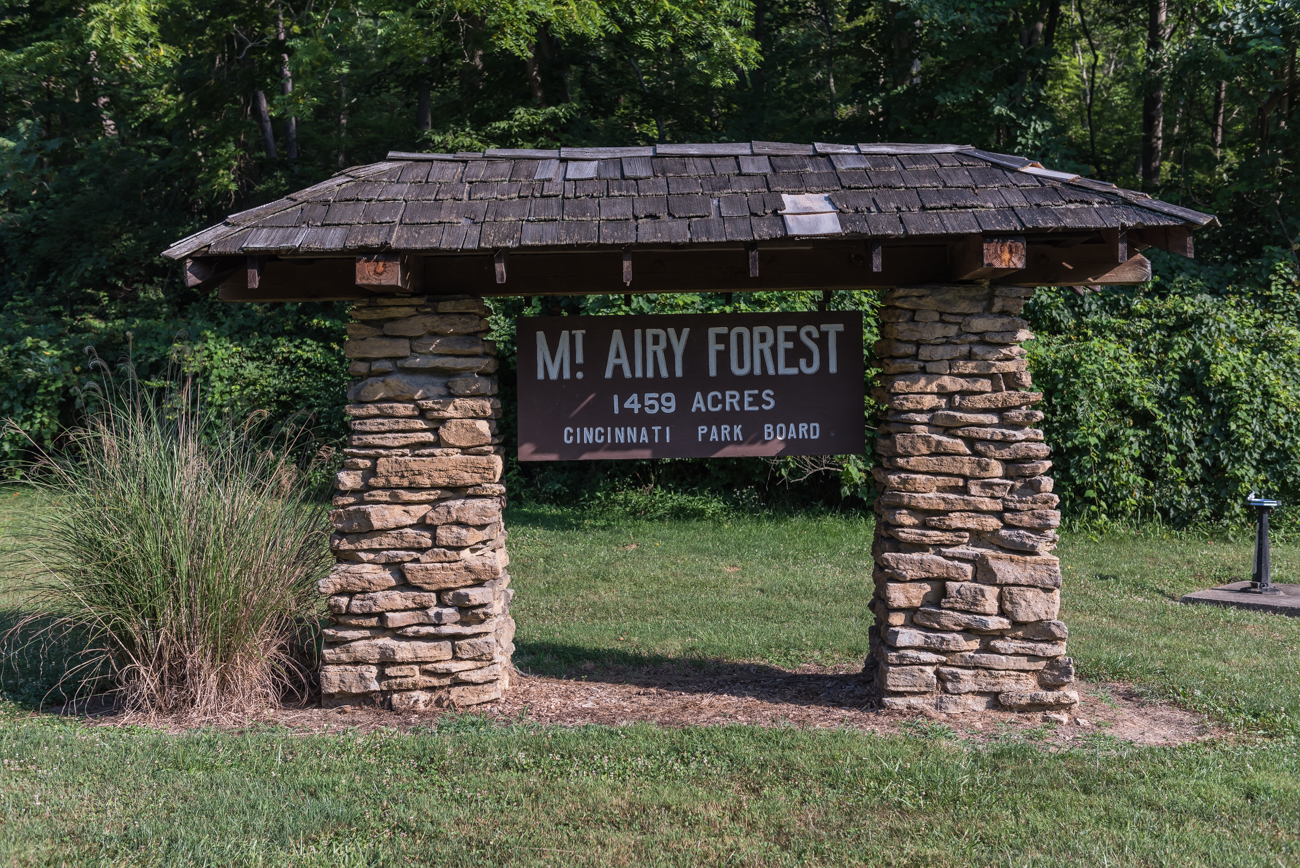 Mt. Airy Forest features 1,459 acres of hiking trails, horseback riding trails, an accessible treehouse, shelters & lodges, a dog park, a disc golf course, an arboretum, and more. It accounts for one-third of all park acreage in Cincinnati and is listed on the National Register of Historic Places. ADDRESS: 5083 Colerain Ave. (45223) / Image: Mike Menke // Published: 8.1.18