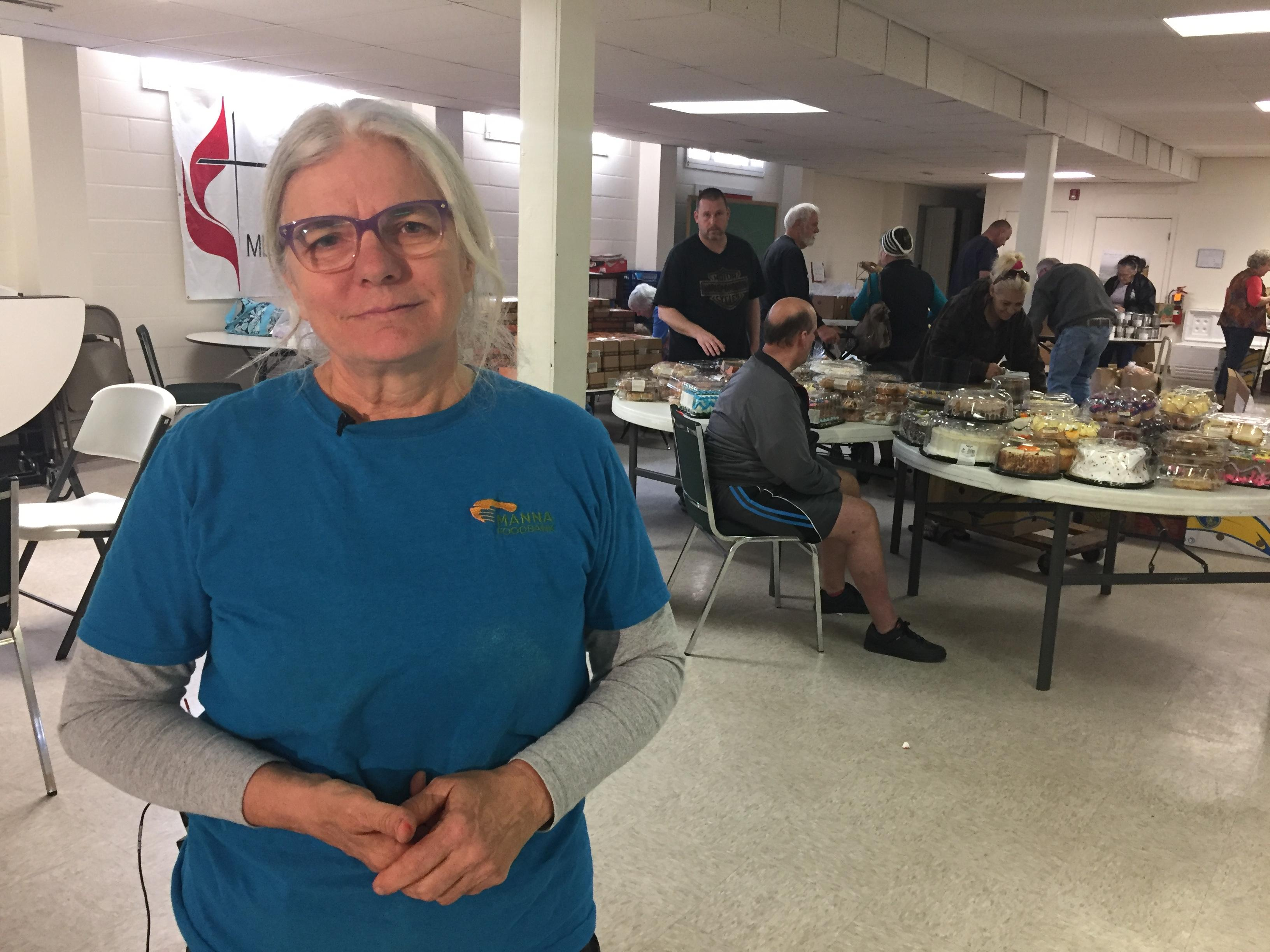 Our Person Of the Week is Jan Ianniello, who first began volunteering for Manna Food Bank back in the '90s. (Photo credit: John Le, WLOS)