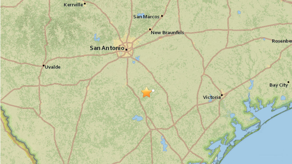 Earthquake reported southeast of San Antonio WJLA