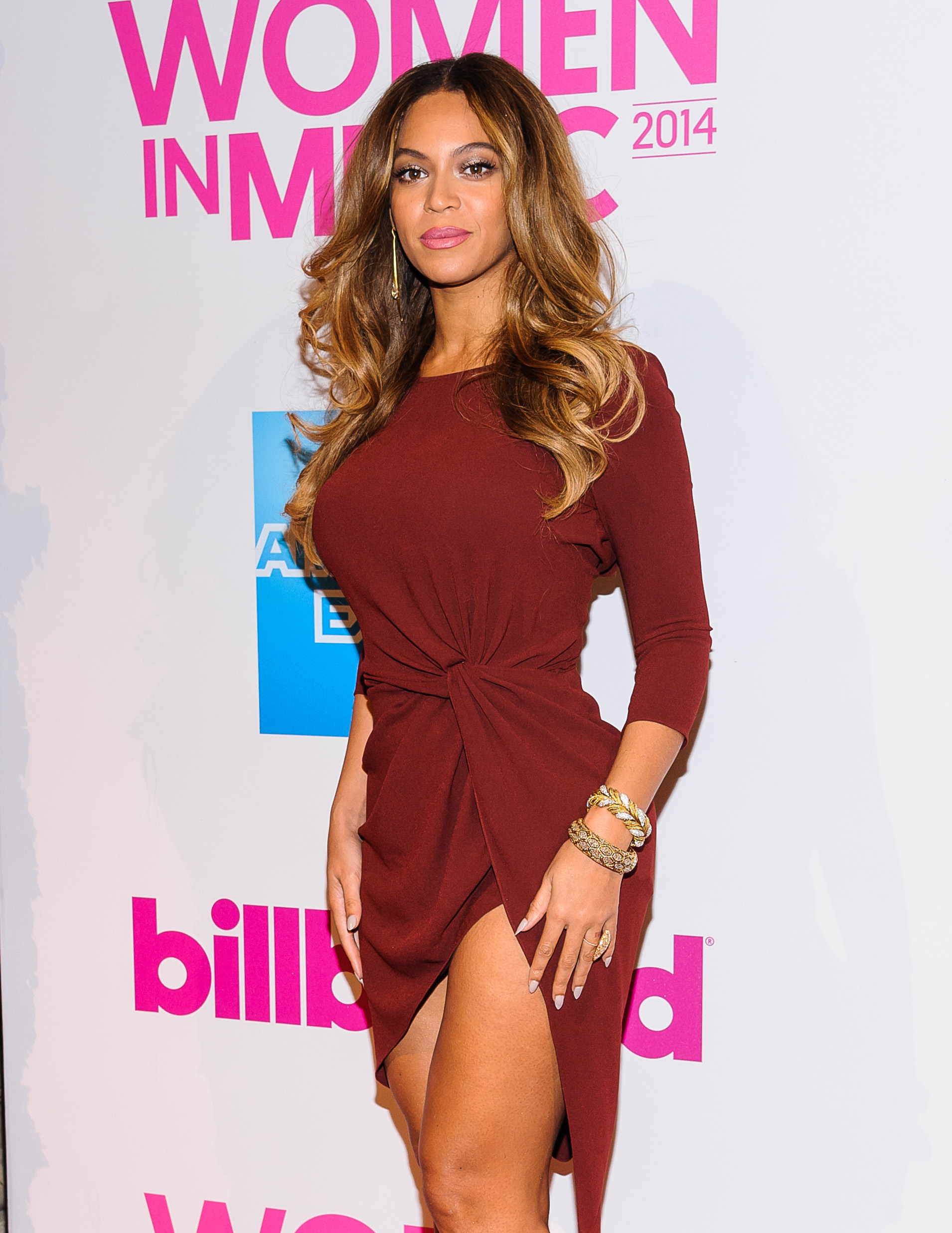 Beyonce at the Billboard Women in Music Luncheon 2014 at Cipriani Wall Street (C.Smith/ WENN.com)
