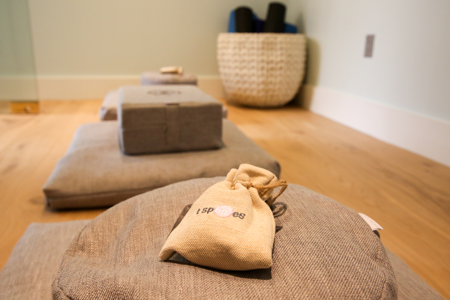 There's a small meditation room, too, if the stress of the day takes its toll. (Image: Amanda Andrade-Rhoades/ DC Refined)