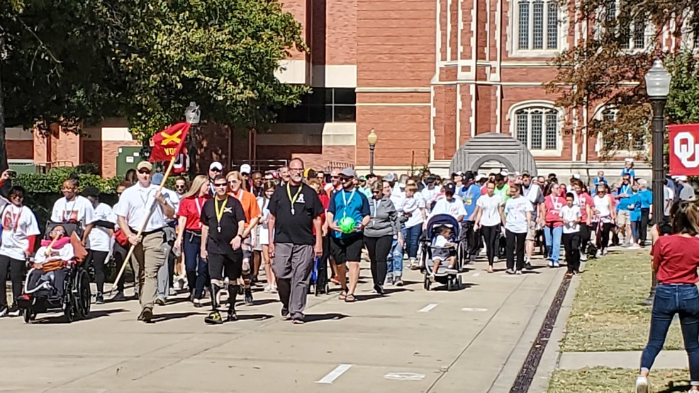 The second annual Walk to Defeat ALS event hosted at OU