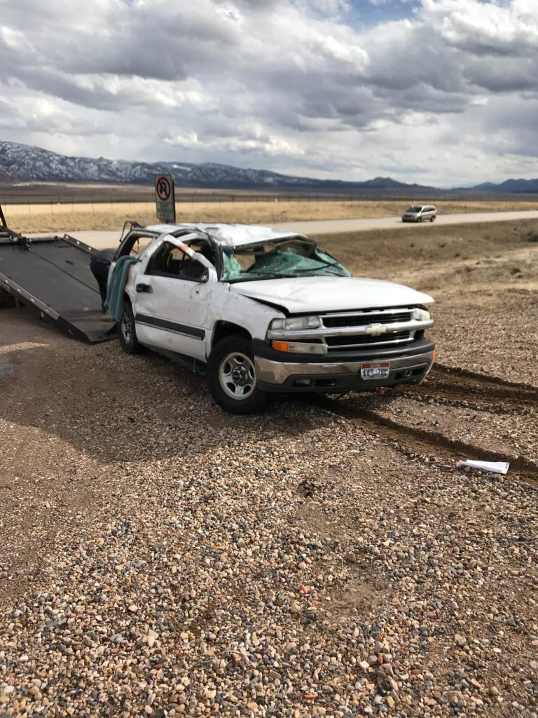 6 people injured in Juab County wreck (Photo: UHP)
