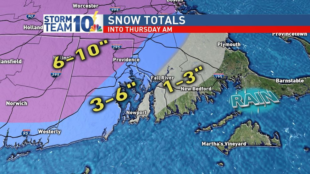 Snow, wind intensity drops off early Thursday
