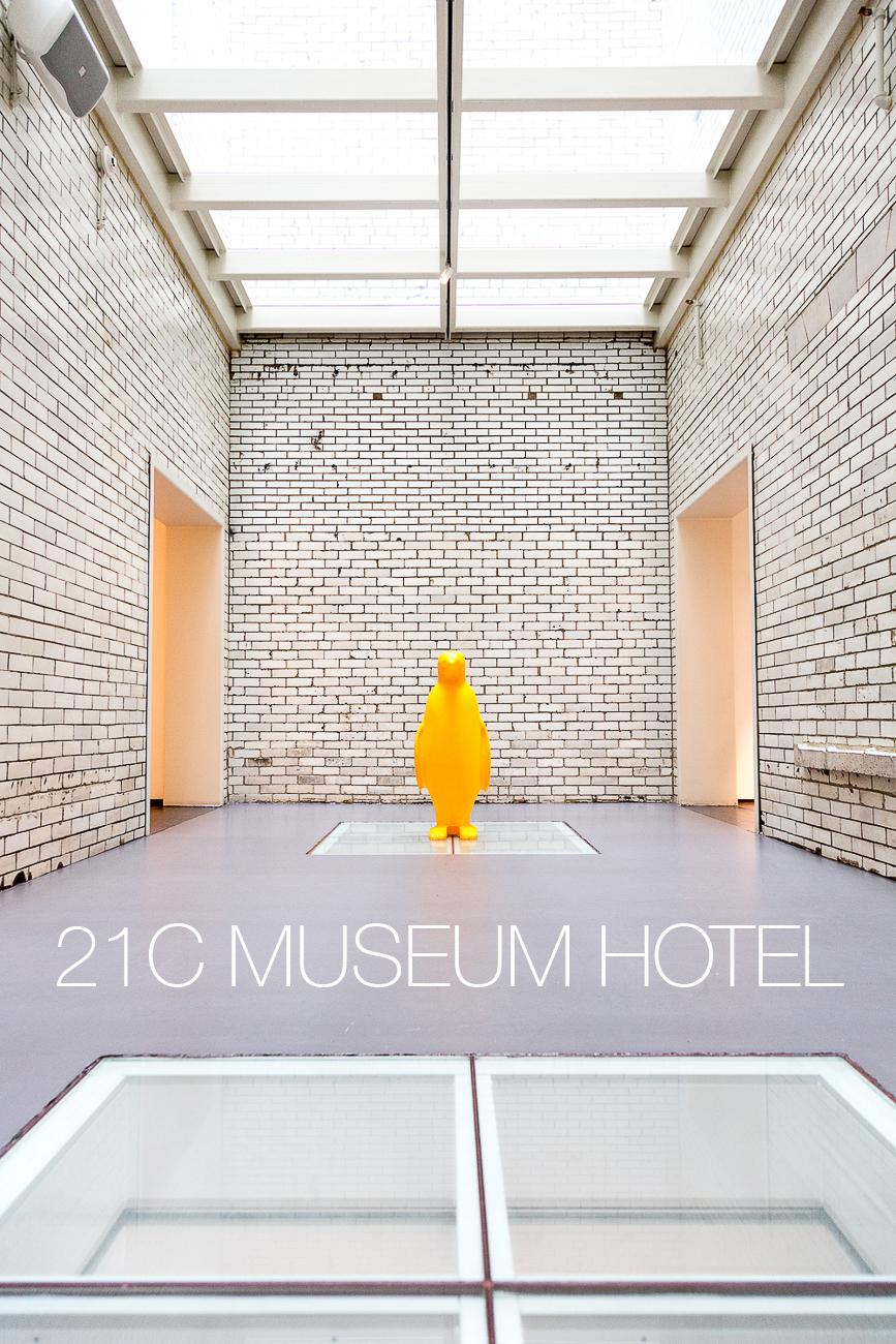 PLACE: 21C Museum Hotel / DESCRIPTION: a museum of modern fine art attached to a swanky hotel / ADDRESS: 609 Walnut St (45202) / ADMISSION: FREE / Image: Daniel Smyth // Published: 11.29.17