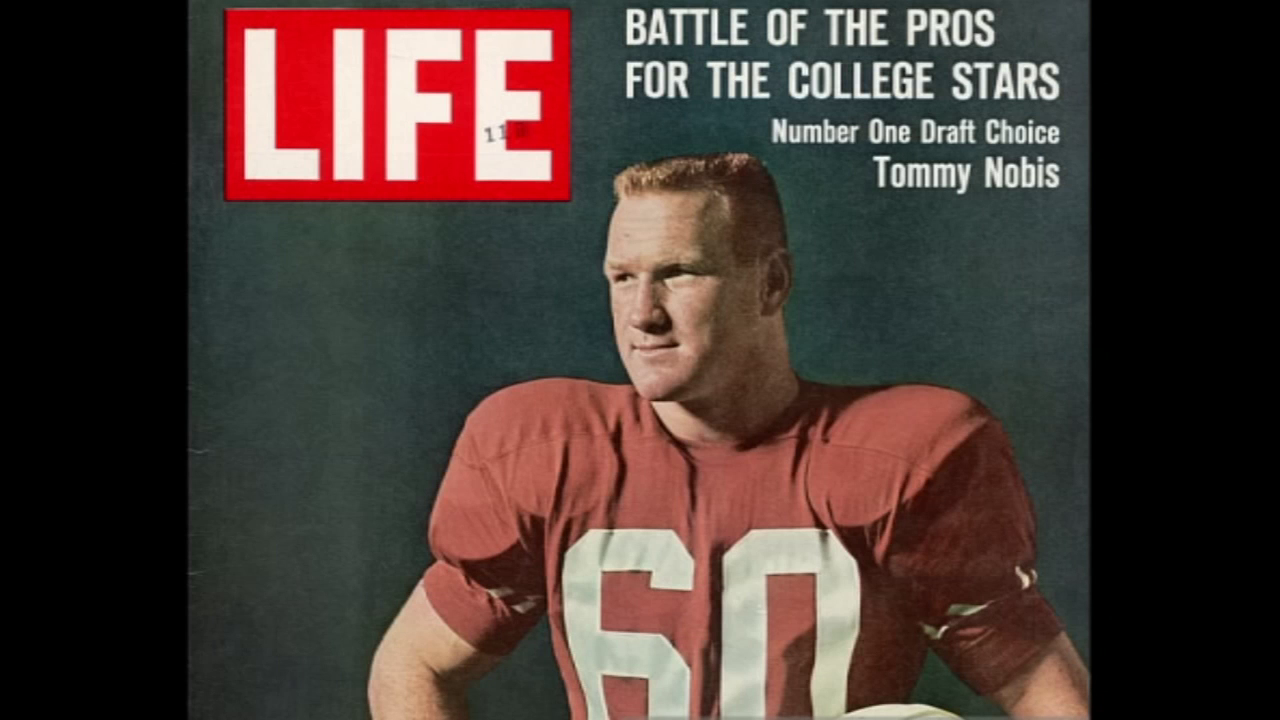 Tommy Nobis on the cover of Life Magazine.