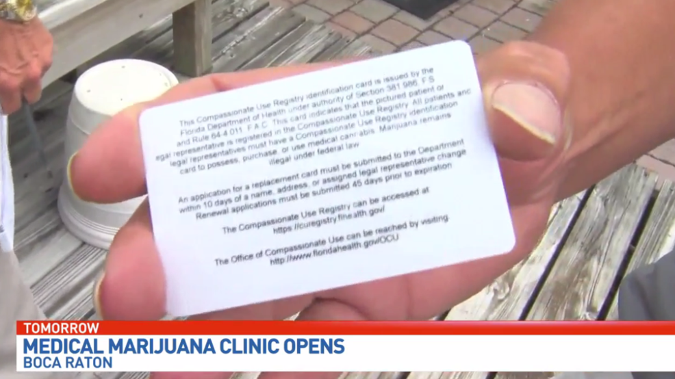 Medical pot clinic opens its doors in boca raton wpec reheart