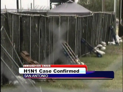 One child is confirmed to have H1N1