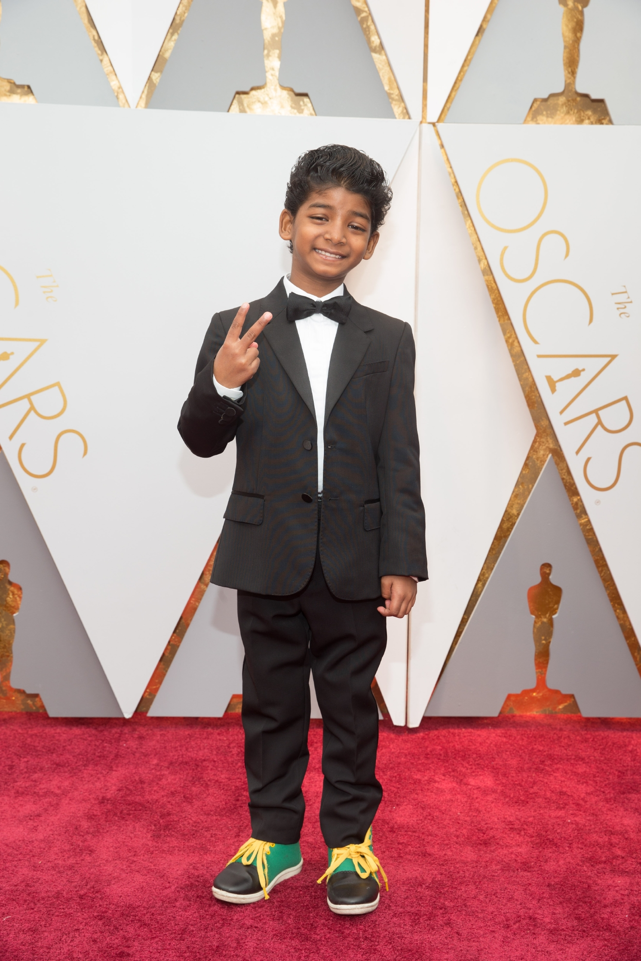 #4: Sunny Pawar. JUST LOOK AT THIS LIL' MAN! (Image: AMPAS)