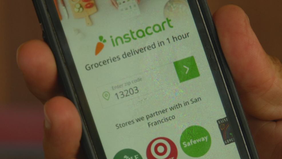 Grocery delivery service arrives in Central New York | WSTM