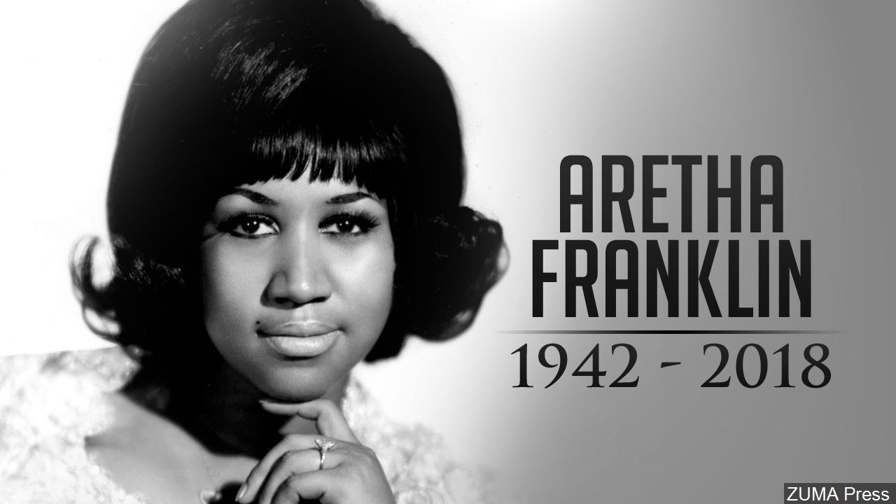 Soul singer Aretha Franklin, appearing at the inauguration of President Barack Obama, died Thursday, Aug. 16, 2018 at her home in Detroit. She was 76. (WWMT/MGN Online)