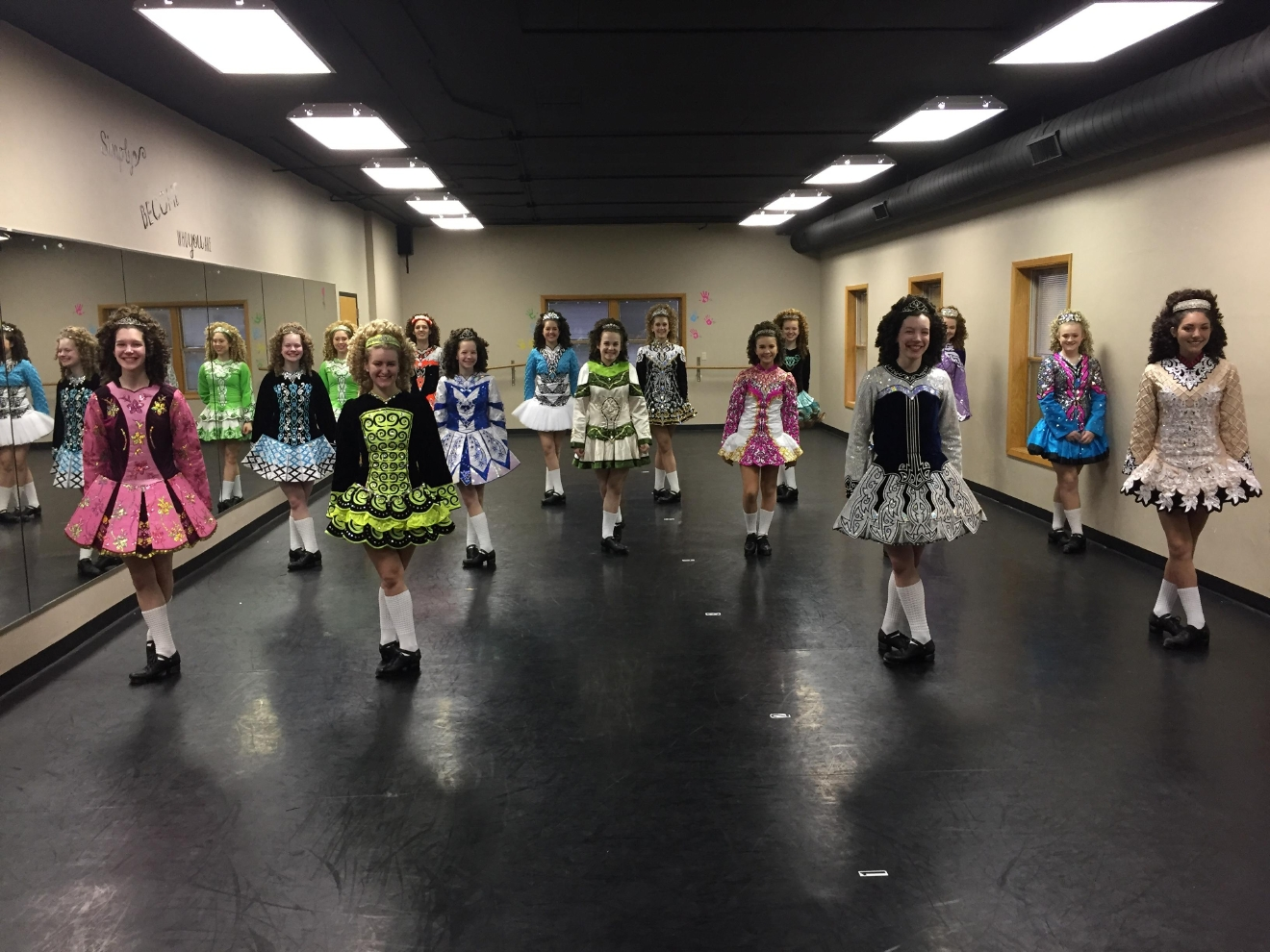 The Irish Heritage Dancers were Live Friday Morning Celebrating St. Patrick's day on Good Day Wisconsin. (March 17, 2017/WLUK)