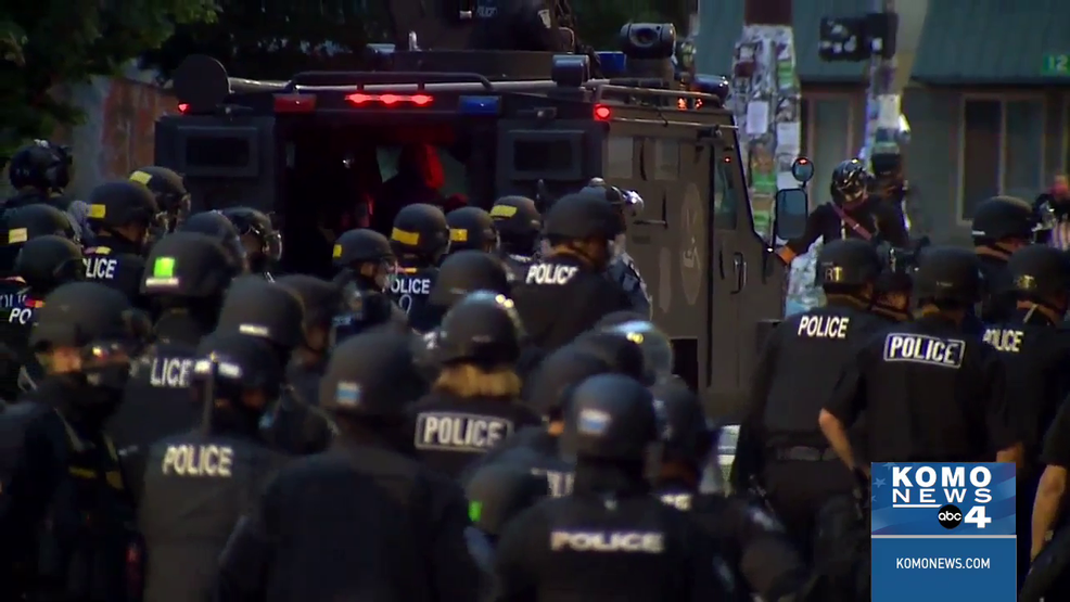 Seattle police's CHOP sweep brought arrests but quick release from jail as well