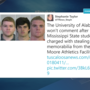 4 MSU students arrested for stealing Alabama Crimson Tide memorabilia from school