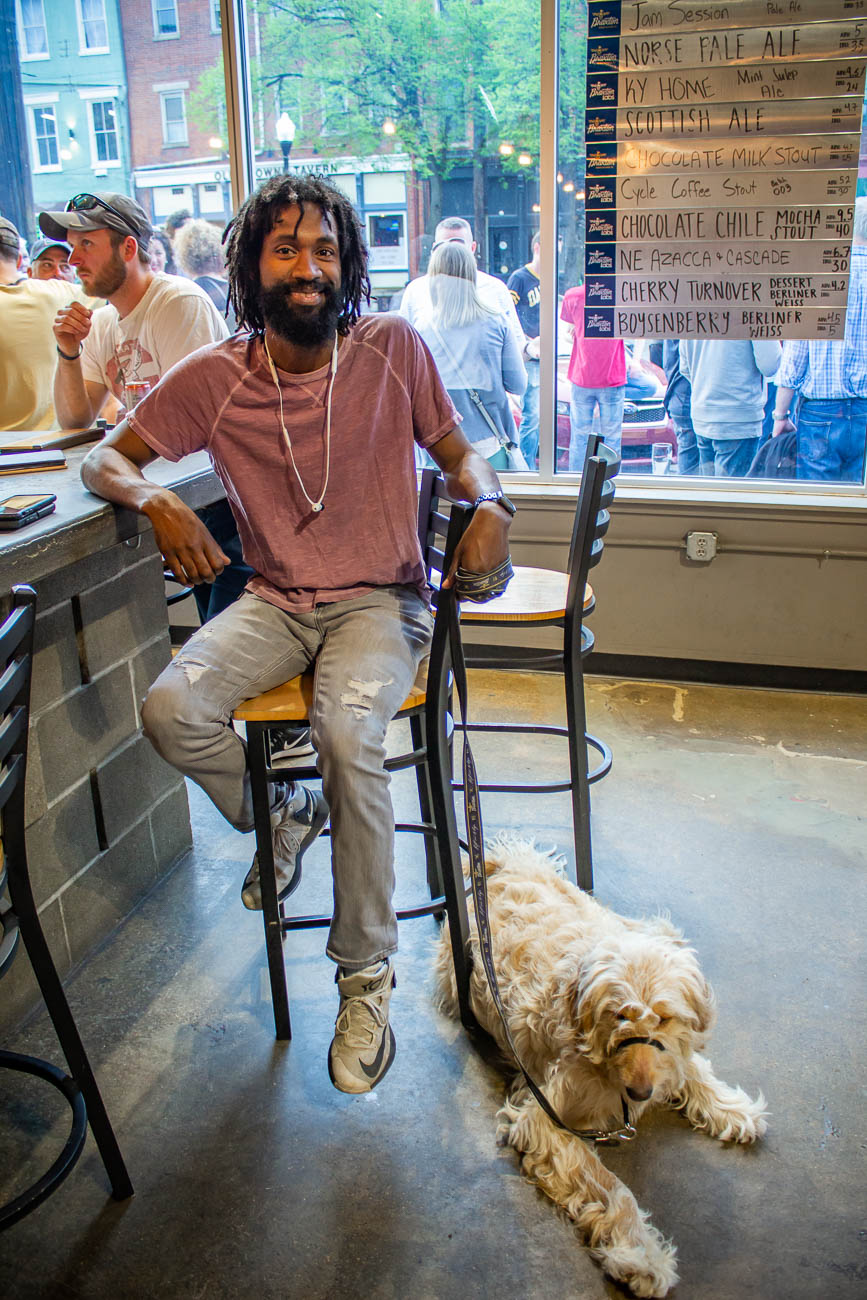 <p>The dog to human ratio in Braxton was fantastic. / Image: Katie Robinson, Cincinnati Refined // Published: 4.19.19</p>