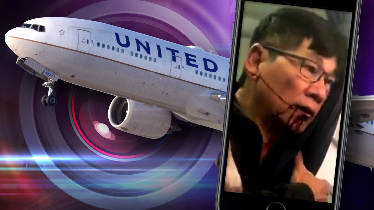 Federal officials decided not to punish United Airlines over an infamous incident in which a passenger was dragged off an overcrowded plane. (Photo: Kaylyn Davis/Twitter; Cutout Photo: Eric Salard/CC BY-SA 2.0)