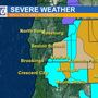 Winter Storm Warning issued as system begins to move inland