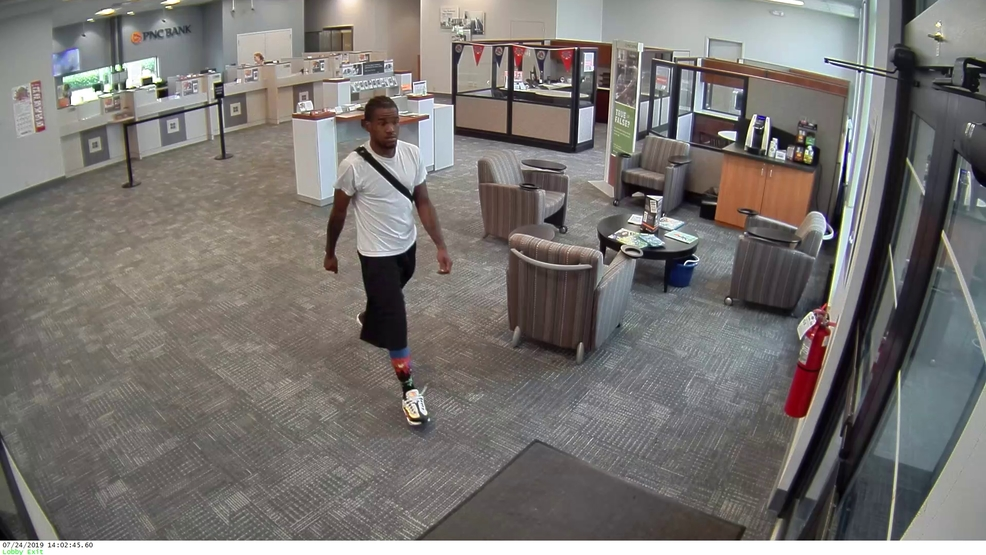 Police looking for man accused of robbing Mason bank   WKRC
