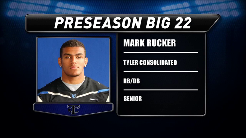 Preseason Big 22 Profile; Mark Rucker, Tyler Consolidated