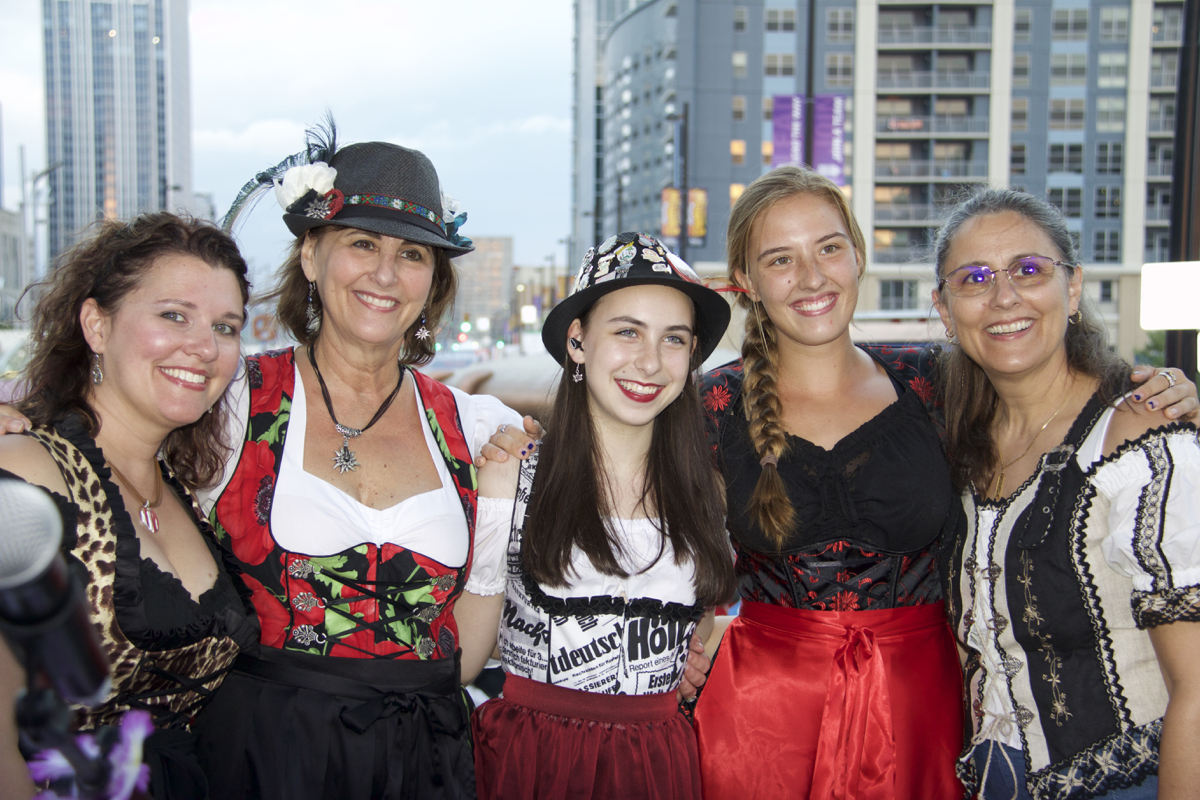 Oktoberfest Zinzinnati took place Sept. 16-18 on 2nd & 3rd Streets between Walnut & Elm in Downtown Cincinnati. / Image: Dr. Richard Sanders
