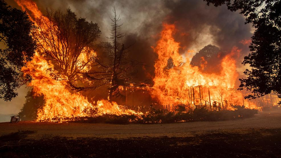 Mother Escapes A Fire Tornado As Carr Fire Moved Through Redding