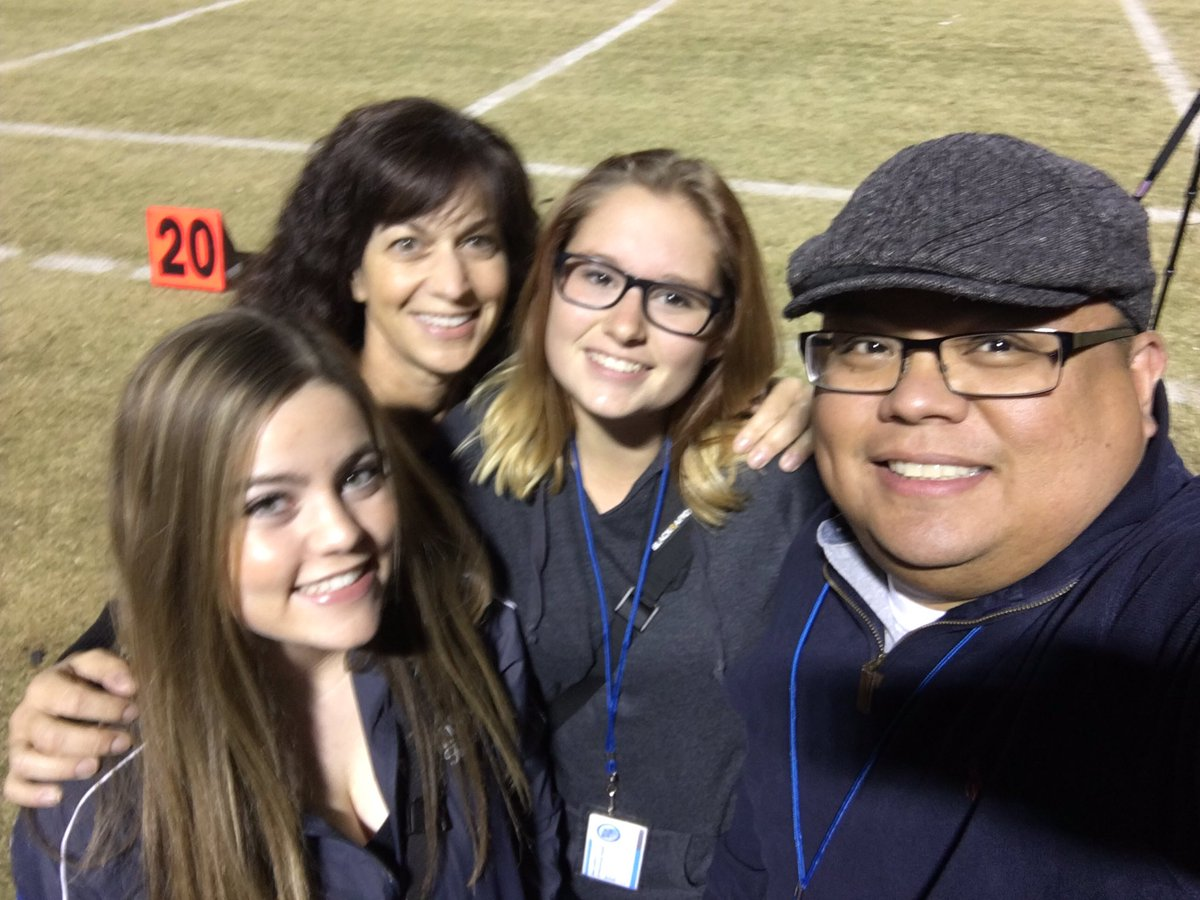 Basic press access team covering the game 11/04/16 (Basic Academy)