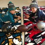 A house divided: A Patriots fan and a Jaguars fan under one roof