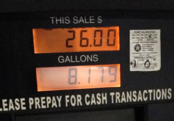 Average U. S. price of gas jumps 6 cents per gallon, to $2.50