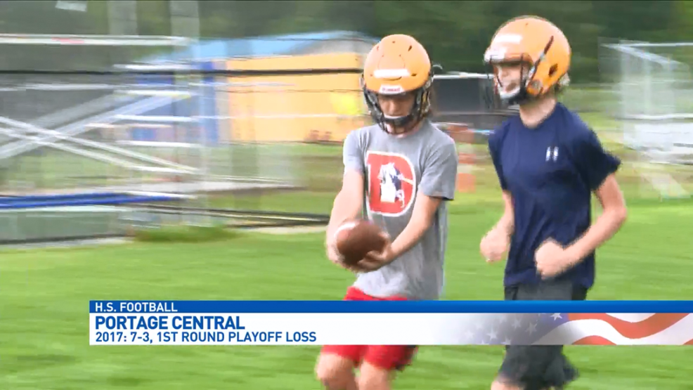 Portage Central Football Holds Opening Practice Wwmt