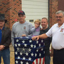 Oneonta Fire Department offers proper drop-off box to retire old flags