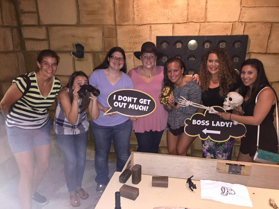 Are you up for a little challenge? Sign up for an escape room! Spend some time locked in a room with people you trust will be able to solve clues to release you from the room. Choose from different themed rooms and have blast! (Photo: Tina Irizarry/DC Refined)