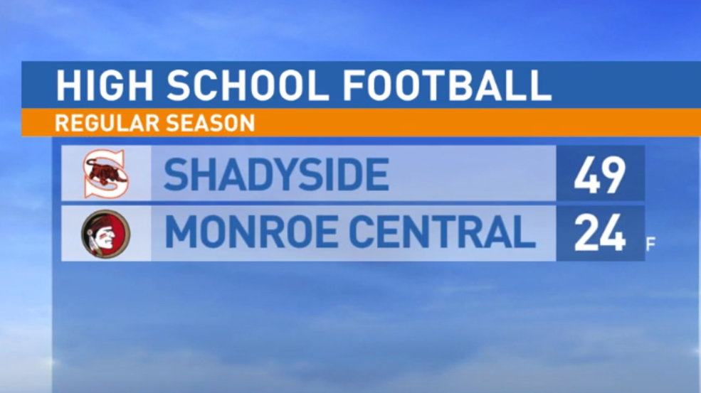 11.1.19: Shadyside at Monroe Central