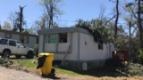 Family looking for a new home after tornado went through mobile home park