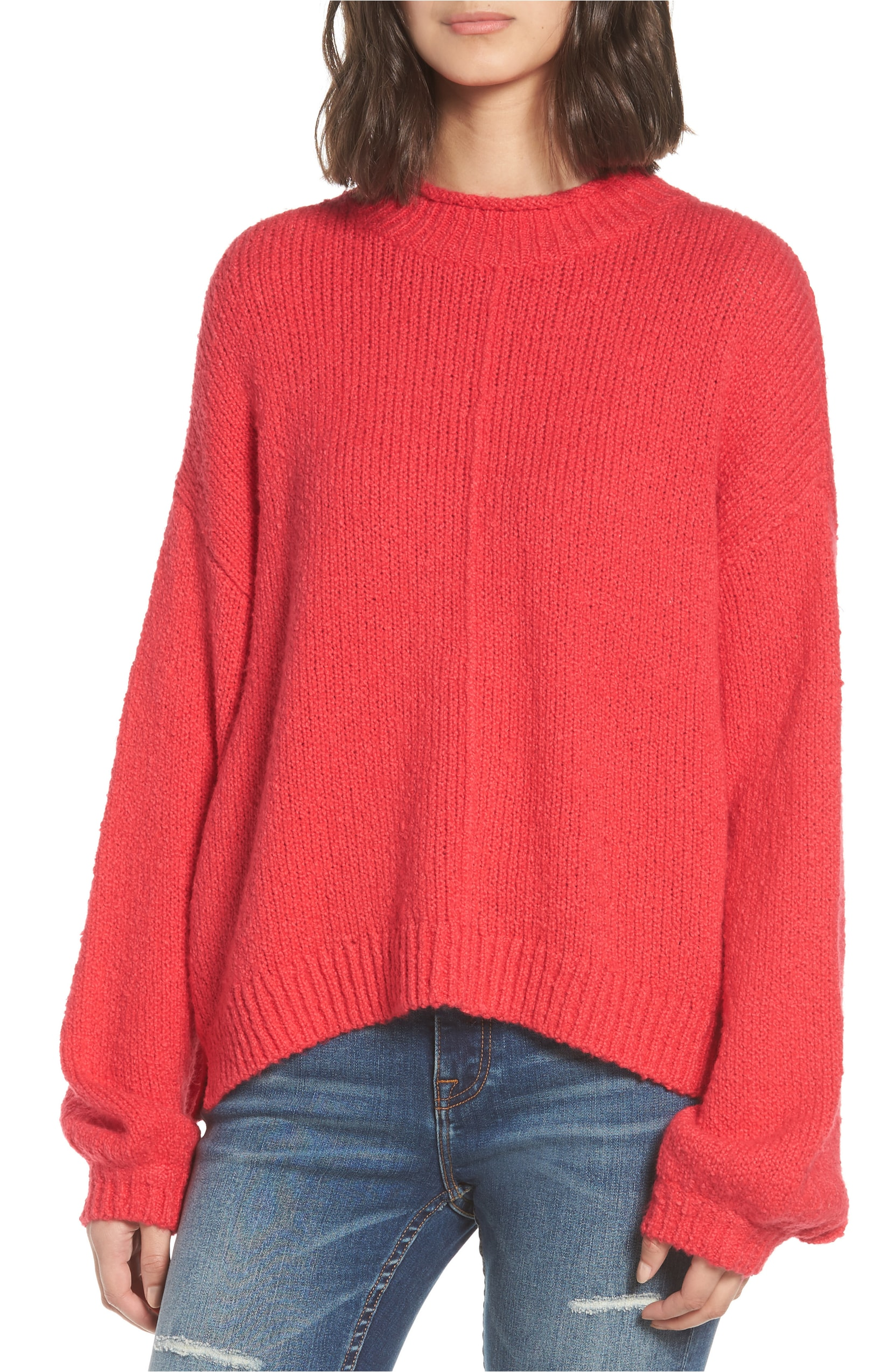 Balloon Sleeve Sweater. Sale: $31.90 / After Sale:$49.00. (Image: Nordstrom){ }